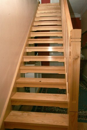 Stair Riser On Winder Staircases From The Wooden Staircase Specialists  Medyalink